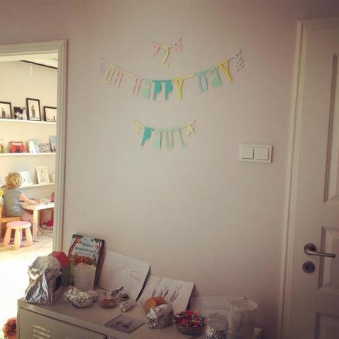 Letzte Geburtstagsvorereitungen für den kleinen Paul ... #sweetpaul