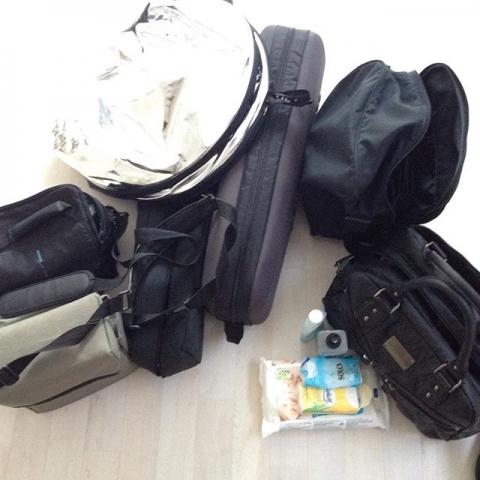 Ready to go  @ninabalboa
