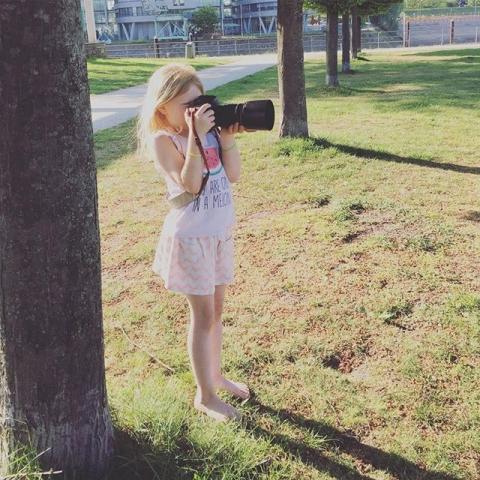 Lou ️ #bestassistent #minime #photographer #klickkind